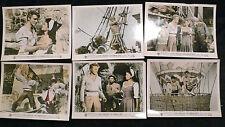 THE CRIMSON PIRATE BURT LANCASTER TECNOCOLOR 1952 (9) LOBBY PHOTOS