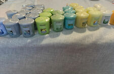 Lot Of 30 Yankee Candle Assorted Scent Votives Set #1 New Free Shipping