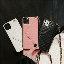 Envelope Crossbody Wallet Strap Card Case Cover for iPhone 11 Pro XS Max XR 7 8+