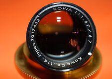 FAST Kowa 67mm F1.67  X-RAY CINE SUPER-35 ARRI SONY T-MOUNT C-MOUNT Lens