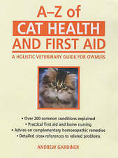 A–Z of Cat Health and First Aid: A Holistic Veterinary Guide for-ExLibrary