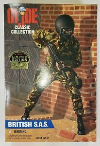 Hasbro 1996 GI Joe Classic Collection Limited Edition British S.A.S  Unopened