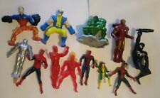 Lot of 11 Marvel McDonalds/Burger king figurines