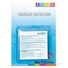 INTEX Vinile Autoadesivo forare riparazione KIT per gonfiabili Confezione da 6