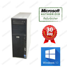 HP Workstation Z400 XEON QuadCore W3570 3.2Ghz 4G 500G DVDRW NVidia Quadro W10H