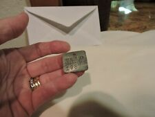 1963/64  Wisconsin  Trap Tag Trapping Wisconsin