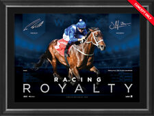 10 X WINX – Racing Royalty – 3 Cox Plates Deluxe Sports Lithograph UNFRAMED