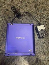 BRIGHTSIGN Digital Signage Player HTML5 True 4K Expanded I/0 Player # XD1034