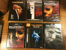 Halloween Complete Movie Lot DVD 1 2 3 4 5 6 7 8 9 Michael Myers Horror NEW 2019