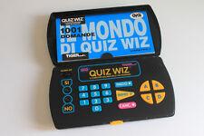 Tiger Electronic QUIZWIZ console e una cartuccia vintage gioco intelligenza port