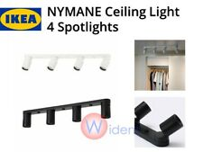 IKEA NYMANE Ceiling Light with 4 Spotlights