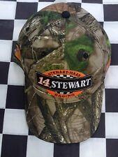 Tony Stewart #14 NASCAR Ball Cap Hat NEW Stewart-Haas Bass Pro True Timber Camo