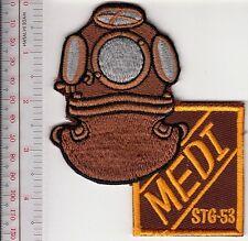 SCUBA Hard Hat Diving East Germany DDR Medi 3 Bolts Helmet STG-53 brown