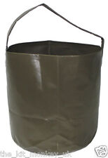 Fox Outdoor 10ltr collapsible folding PVC water bucket for Camping & fishing