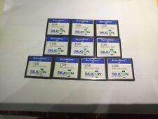 10PCS   SiliconDrive 1GB CF Compact Flash  CF Card SSD-C01G-3500