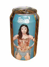 WONDER WOMAN Diet Cherry Dr. Pepper Limited Edition Collector Can, Gal Gadot