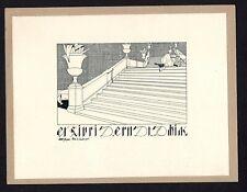 16)Nr.159- EXLIBRIS- Willi Geiger - 1906