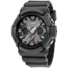 Casio G-Shock Black Dial Resin Mens Watch GA201-1A
