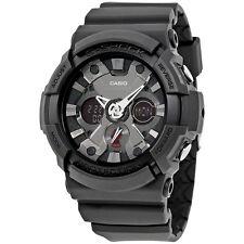 Casio G-Shock Black Dial Resin Mens Watch GA201-1A