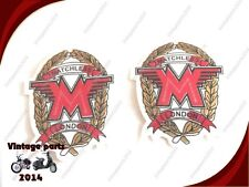 PAIR OF MATCHLESS TOOLBOX/ OIL TANK STICKER SET- MATCHLESS SPARES