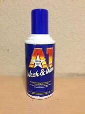 A1 WASH & WAX und  + Dr. Wack 500 ml ART 2740 Premium Autoshampoo Politur