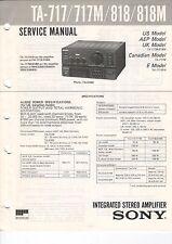 Sony-ta-717/717m/818/818m - Service Manual-b2966
