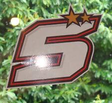 N°5  ZARCO JOHANN  moto GP 1 STICKER ADHESIF AUTOCOLLANT 1 achté = 1 offert