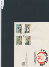 XC67049 Kenya 1977 silver jubilee safari rally FDC used