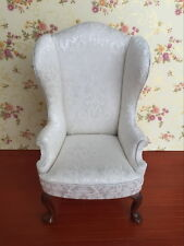 1/6 Scale Dollhouse Furniture For Barbie Dolls Wing Chair Armchair SL001J New