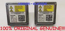 2pcs 2x D5S Philips Xenon Bulbs Original Genuine HID 12V 25W PK32d-7 Pair