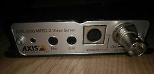 AXIS 250S MPEG-2 Video Server Over Network High Definition