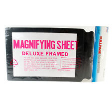 Flents Full Page Magnifier - Eye Strain Relief Book Reader Magnifying Sheet