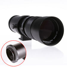 420-800mm HD Manual Focus Telephoto Zoom Lens for Sony Alpha A900 A380 A550 A77