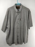 North River Outfitters Mens Multicolor Short Sleeve Button Down Shirt With Logo