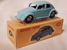 Dinky Toys 181 VW Käfer Volkswagen hellblau Editions Atlas Mattel NEU