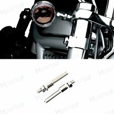 1Pair Turn Signal Relocation Kit For Harley Dyna Super Glide Fxdc Fork