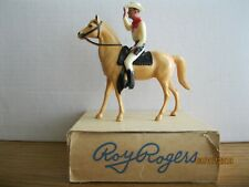 Vintage 1960's Hartland Mini Series #506 Roy Rogers in Original Box w/Trigger!