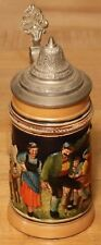 Mountain Meadow with Saying by D&B 1/4 L German beer stein - post WWII # 1801