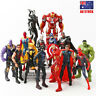 Marvel Avengers Super Hero Ironman Thanos Wolverine Spiderman Action Figure Toys