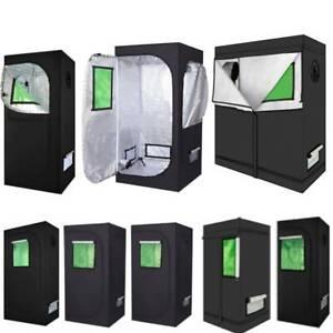 2021 Premium Grow Tent 600D Silver Mylar Indoor Bud Box Hydroponics Dark Room