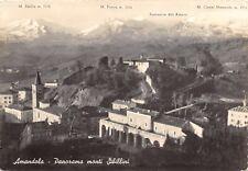 6526) AMANDOLA (ASCOLI PICENO) PANORAMA MONTI SIBILLINI. VIAGGIATA.