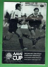 #Kk. Rugby Union Program - 27/8 1995, Warringah V Northern Suburbs