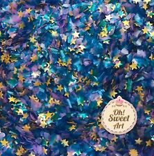 EDIBLE GLITTER STARS  * Pick your color 1/4 Oz container decorating MADE IN USA