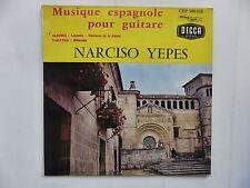 NARCISO YEPES Musique espagnole pour guitare CEP 500018