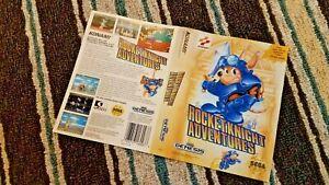 BOX ART ONLY Rocket Knight Adventures Original Sega Genesis Case Sleeve