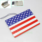 American Flag US PVC Identity Card Passport Holder Protect Cover Travel Journey
