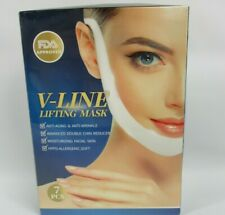 V Line Lifting Face Mask Double Chin Reducer 7 Pieces Anti Aging Anti Wrinkle