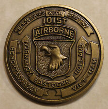 101st Airborne Division 7th Aviation Battalion Air Assault Army Challenge Coin