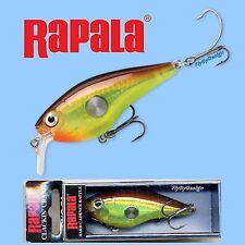 Rapala Hot Mustard Clackin' Crank - Rattling Fishing Lure (CNC74 HM)