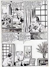 "MELLIES ""LE CIRQUE DU DIABLE"" PLANCHE ORIGINALE TEX BILL ARTIMA PAGE 19"